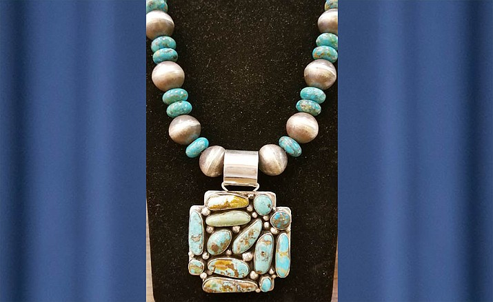 Come to the Andrea Smith Gallery for the 1st Friday Art Walk, Aug, 2-3, to meet Jo of Topaz Spirit and see some of her amazing hand-worked jewelry and hear her story of how she has made her way with her gift.