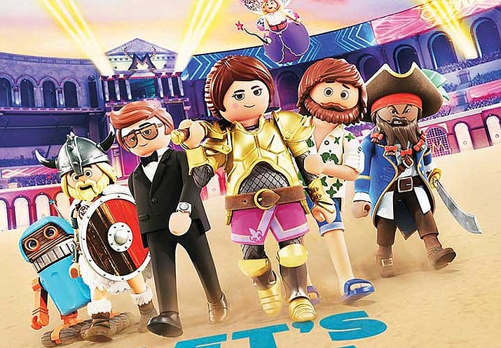(NEW) PLAYMOBIL: THE MOVIE - A young woman travels to the animated world of Playmobil to find her missing younger brother, Charlie. In order to bring him back home, she must embark on a thrilling adventure. Stars Anya Taylor-Joy, Jim Gaffigan, Gabriel Bateman, Adam Lambert, Kenan Thompson, Meghan Trainor, Daniel Radcliffe. G – fantasy, adventure