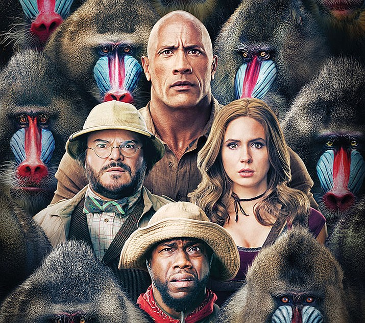 (NEW) JUMANJI: THE NEXT LEVEL - PG-13 – fantasy, action