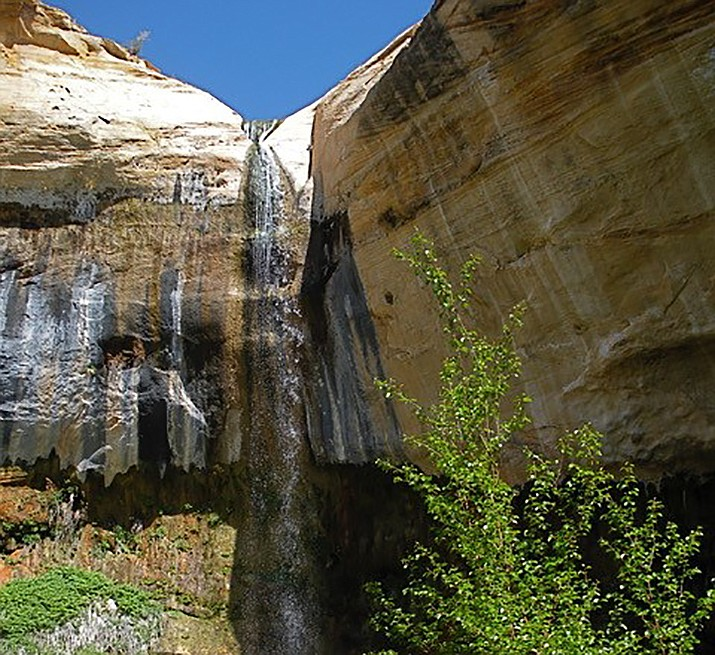 View of the upper falls from below. (Nigel Reynolds/Courtesy)