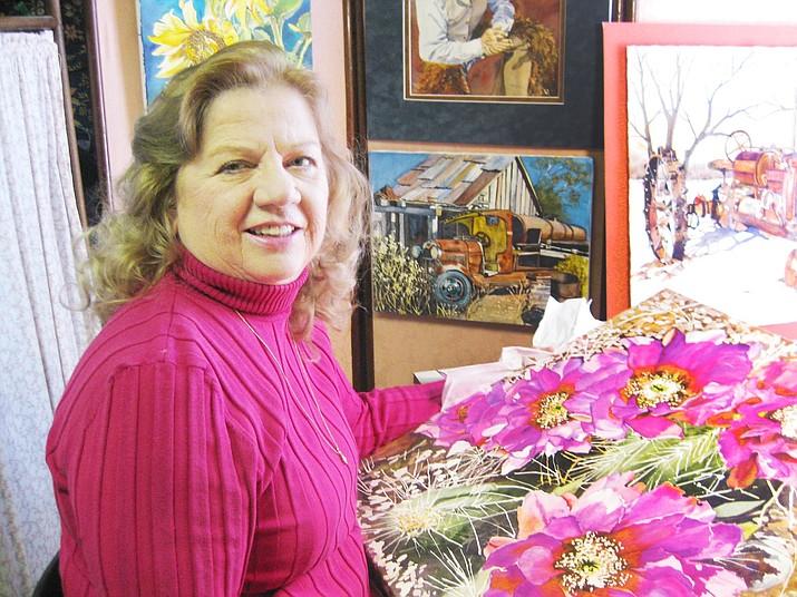 Julie Ronning Talbot in her studio.