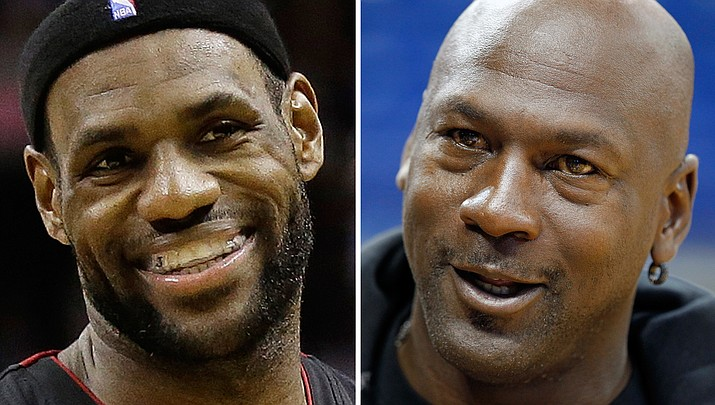 Column: Why LeBron James will never match Michael Jordan's greatness