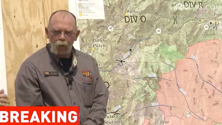 Video of June 28 morning Goodwin Fire update