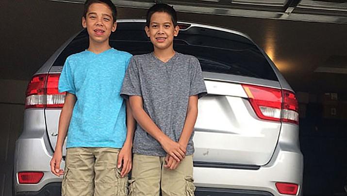 Prescott Valley boys lift car off granduncle, save his life