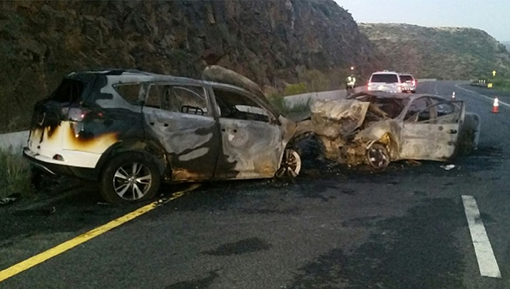 4 seriously injured in wrong-way wreck on I-17