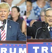 Trump considers Arpaio pardon photo