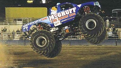 No more monster trucks at the Mohave County Fairground's grandstand arena
