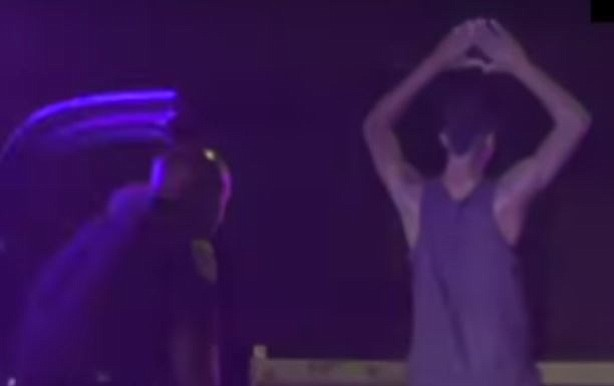 Video: Texas suspect breaks out dance moves before arrest