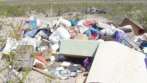 Supervisors to address desert trash dumpers, GVID water rates Monday