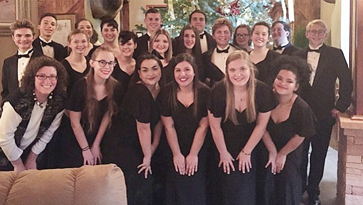 Prescott High School choir in full swing for the holidays