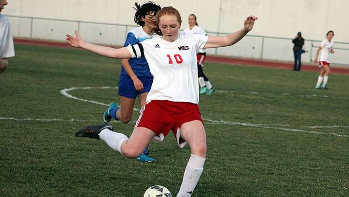 Prep Soccer: Lady Vols fall to Prescott on Senior Night