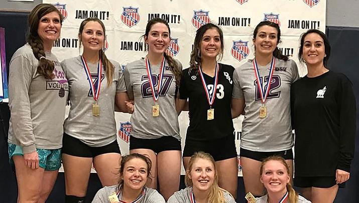 Desert Stars Volleyball 18U takes first in Las Vegas