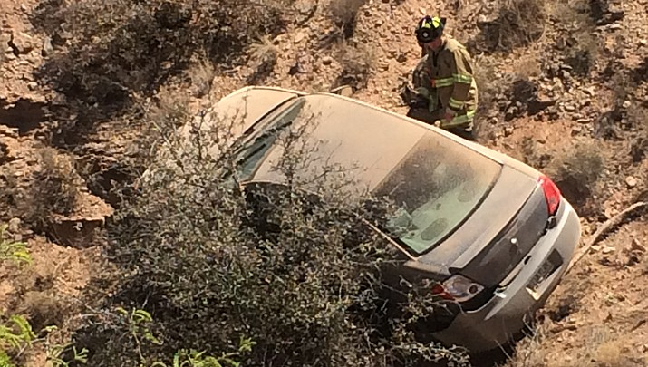 Man rescued from car in Clarkdale (with video)