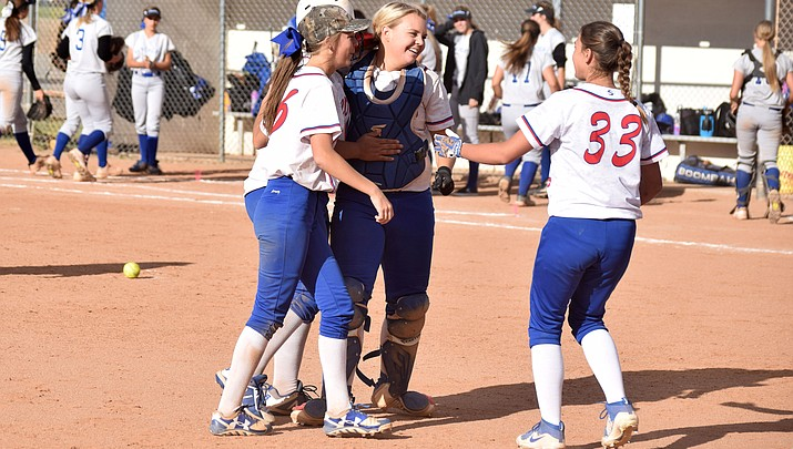 Cowboy softball clinches region with walk off win