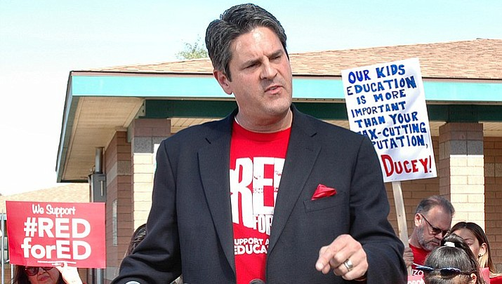 Ducey holds firm on not offering more to teachers
