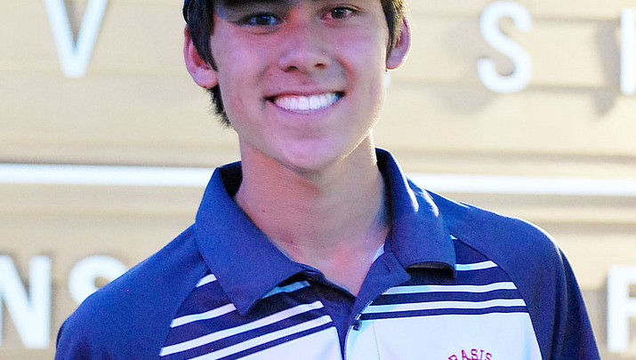 Trevor Lewis of BASIS Prescott wins state CAA golf title