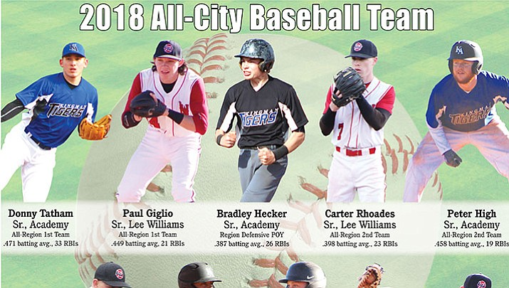 The Kingman Daily Miner's 2018 All-City Baseball Team