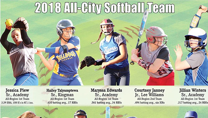 The Kingman Daily Miner's 2018 All-City Softball Team