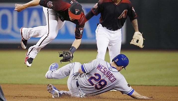 Conforto homers, Matz strong as Mets beat D-backs 5-1