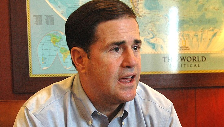 It's official: Ducey to seek re-election as governor