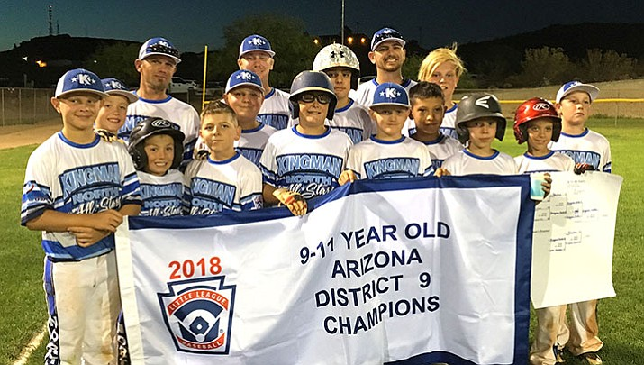 Little League: Kingman North 9-11 All Stars win District 9 Championship