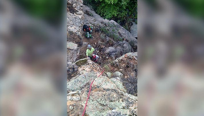 YCSO: Crews use GPS tracker to rescue father, son hikers