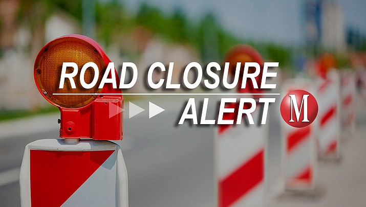 Expect road closures on Stockton Hill and Kino early Friday morning