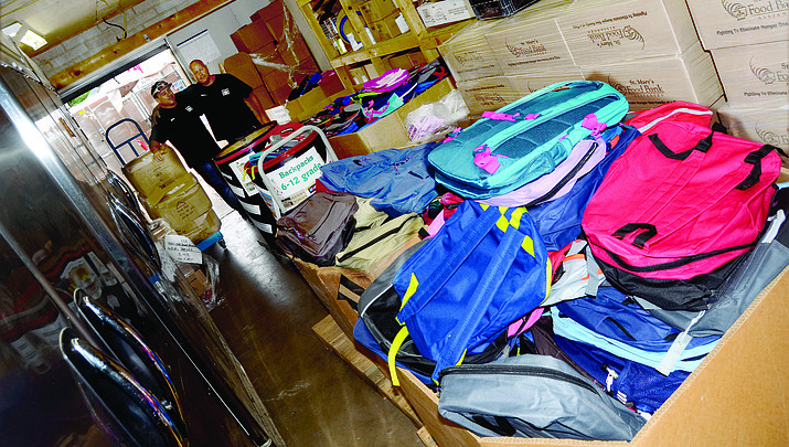 Camp Verde students can get free backpacks for school