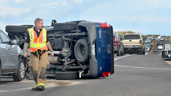 Update: Drivers transported to hospital after Cornville Road collision (with video)