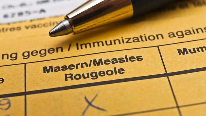 State and county officials warn residents of potential exposure to measles in Arizona