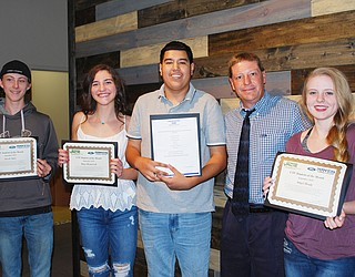vacte recognizes september students of the month the verde