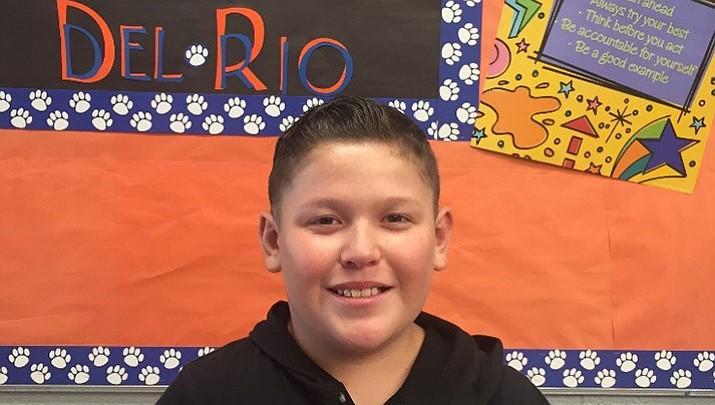 Chino Valley Student of the Week: Eddie Millan