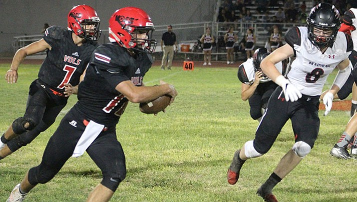 Prep Football: Vols battle, but can't hold off Bradshaw Mountain
