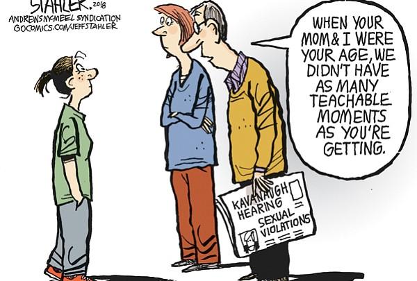 Editorial Cartoon: Sept. 23, 2018