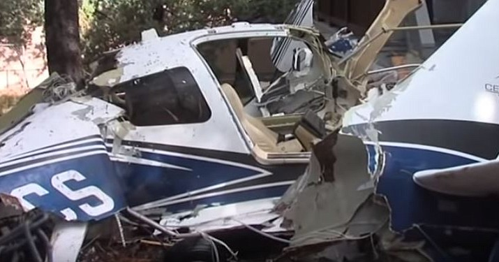 Pilot dies after small plane crashes into a home in Payson