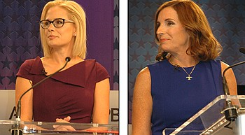 Rep. Martha McSally accuses Senate opponent Sinema of 'treason' photo