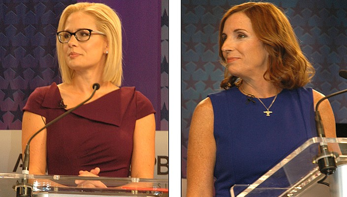 Rep. Martha McSally accuses Senate opponent Sinema of 'treason'