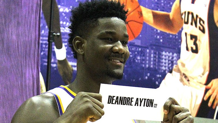 Ayton to begin NBA career against friend, rival Doncic