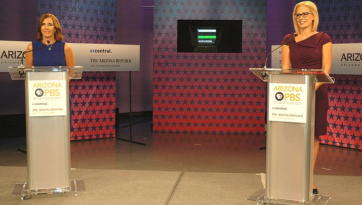 McSally, Sinema face off in planned debate