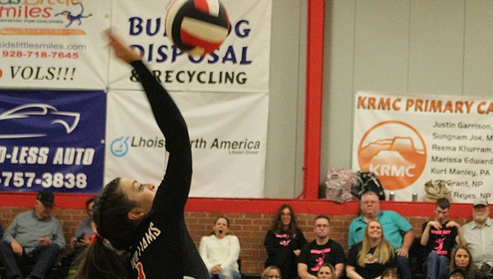 Prep Volleyball: Sahawneh, Monson play their final home match for Lady Vols