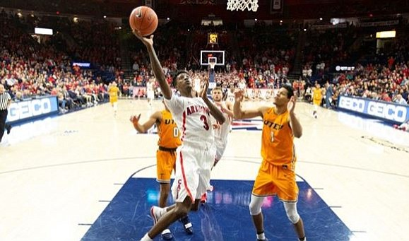 Williams, Randolph pace Arizona to rout of UTEP
