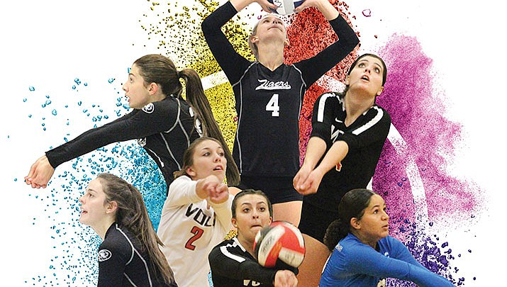 The Kingman Daily Miner's 2018 All-City VolleyballTeam