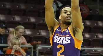 Late comeback falls short for NAZ Suns in 109-97 loss to Stars photo