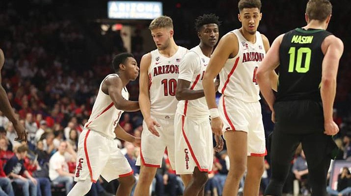 Baylor ends Arizona's home winning streak with 58-49 win