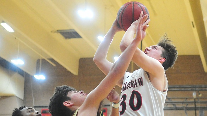 Bradshaw Mountain boys hoops trounces Mohave, moves to 4-3 in region