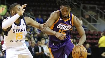 Stars snap NAZ Suns' 3-game winning streak in annual Kids Day Game photo
