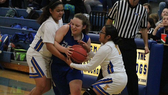 Prep Basketball: Lady Bulldogs advance in 3A State Tournament with win over Academy