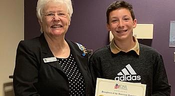NASDAR appreciates the youngest  patriots photo