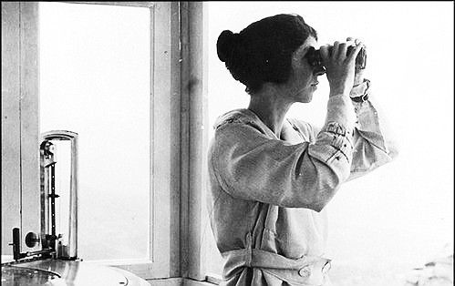 Out of the Past: Fire lookout Helen Dowe