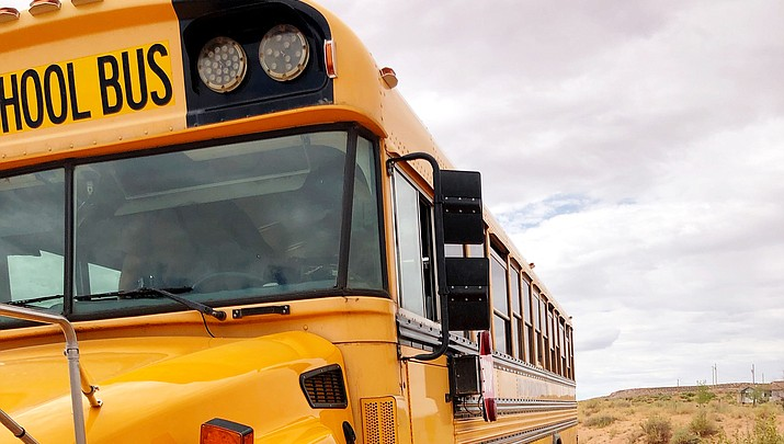 Arrest made in Tuba City school bus collision